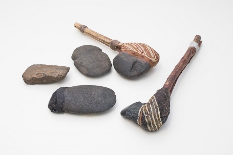 Examples of the type of axes the blade fragments would have been from. CREDIT – Stuart Hay, ANU.