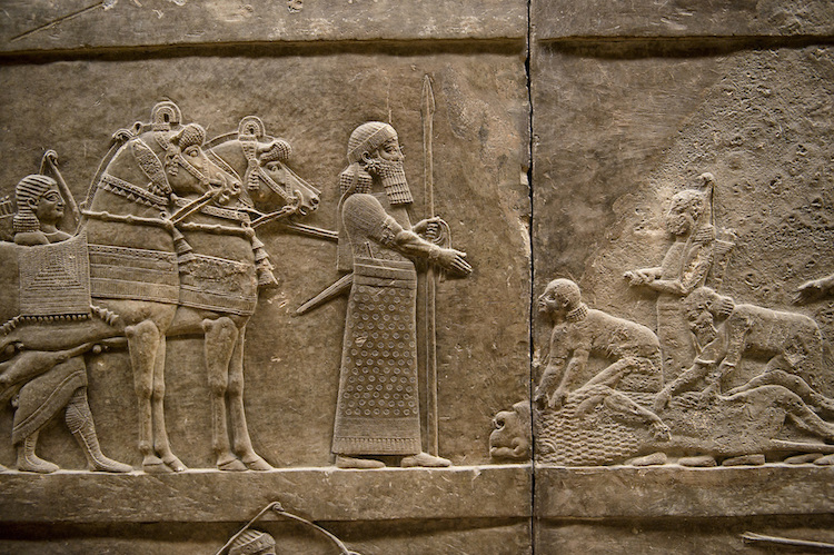Pictures of Nineveh Assyrian Artefacts Antiquities - Stock Photos -