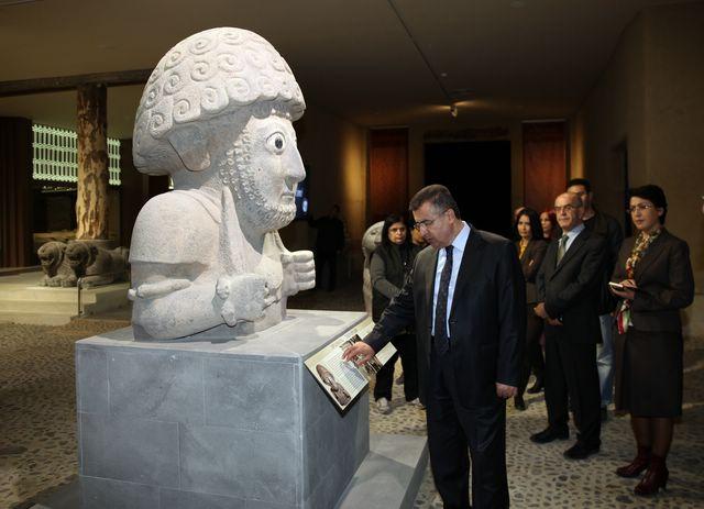 başbakanın katılımıyla hatayda arkeoloji müzesi açıldı