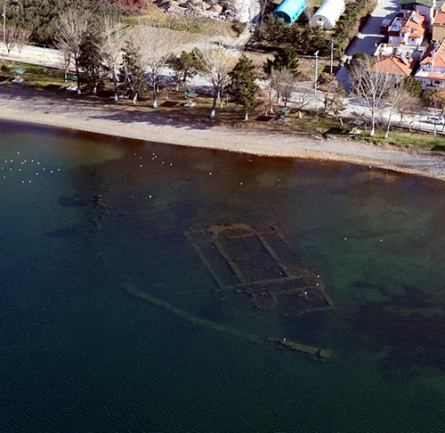 iznikte sulara gömülmüş bazilika