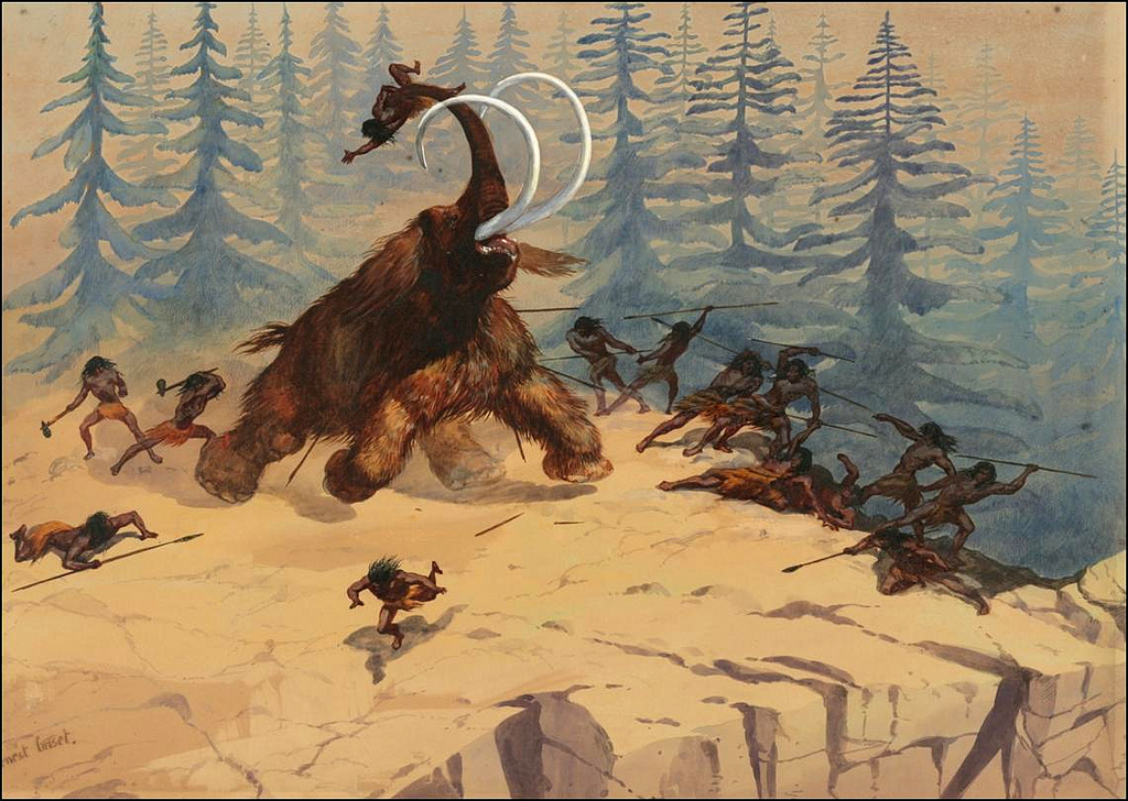 paleolitik köpekler ren geyiği yiyordu