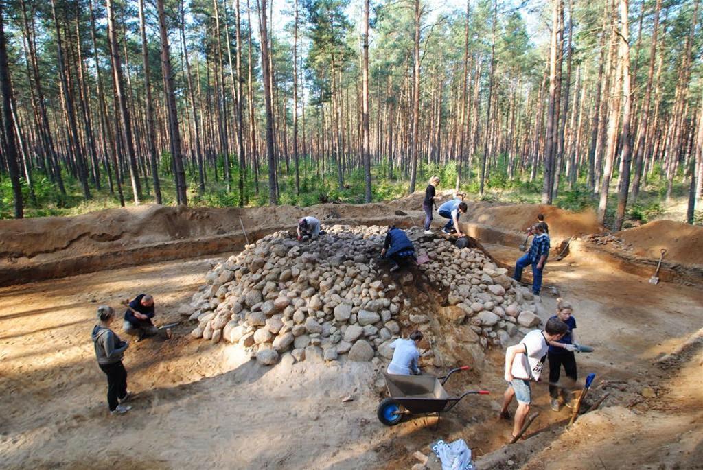 polonya'da ilginç roma buluntuları