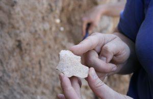 insansılara ait taş alet türkiye'de bulundu