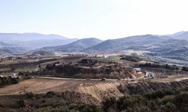 amphipolis'te başka yapılar bulundu