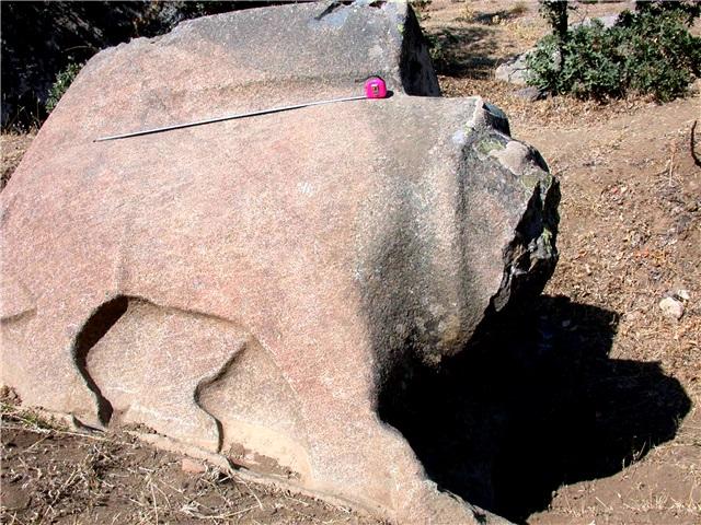 karakız beldesindeki hitit heykelleri müzeye taşınıyor