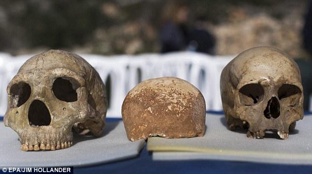 afrika dışında bulunan ilk modern insan israil'de bulundu