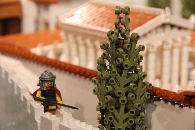 Pompeii'nin Dünü ve Bugünü LEGO ile Canlandırılıyor