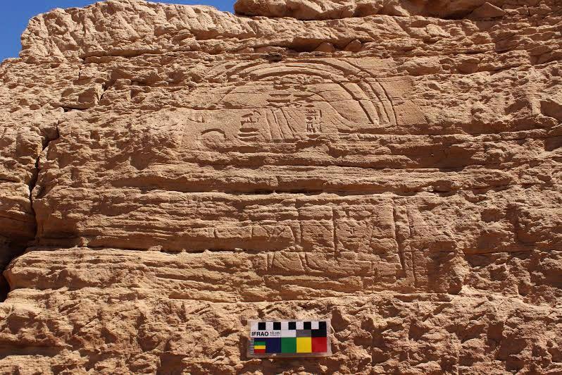 aswan'da 2500 yıllık iki firavun yanyana