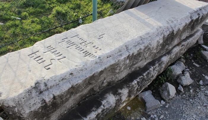 garabet balyan'ın mezar taşı bulundu