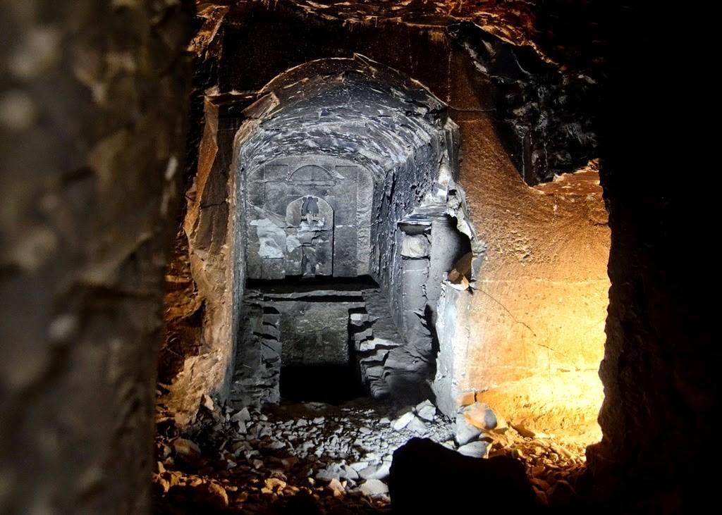antik mısır'da osiris'in mezarı