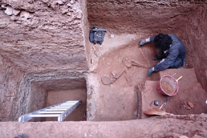 tahran'ın en eski arkeolojik buluntuları gün yüzüne çıktı