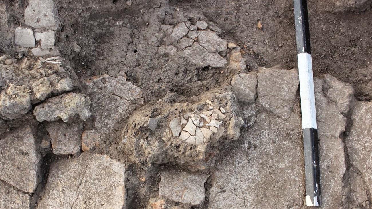 tarih öncesi tapınakta kurban kesilmiş