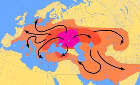 ön hint-avrupa ailesinin kökleri anadolu yerine rusya ve ukrayna steplerinde olabilir