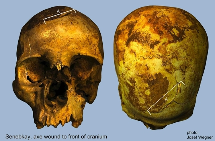 mısır firavunu senebkay'ın kemiklerine analiz yapıldı