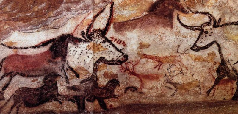 tarih öncesi mağara sanatları