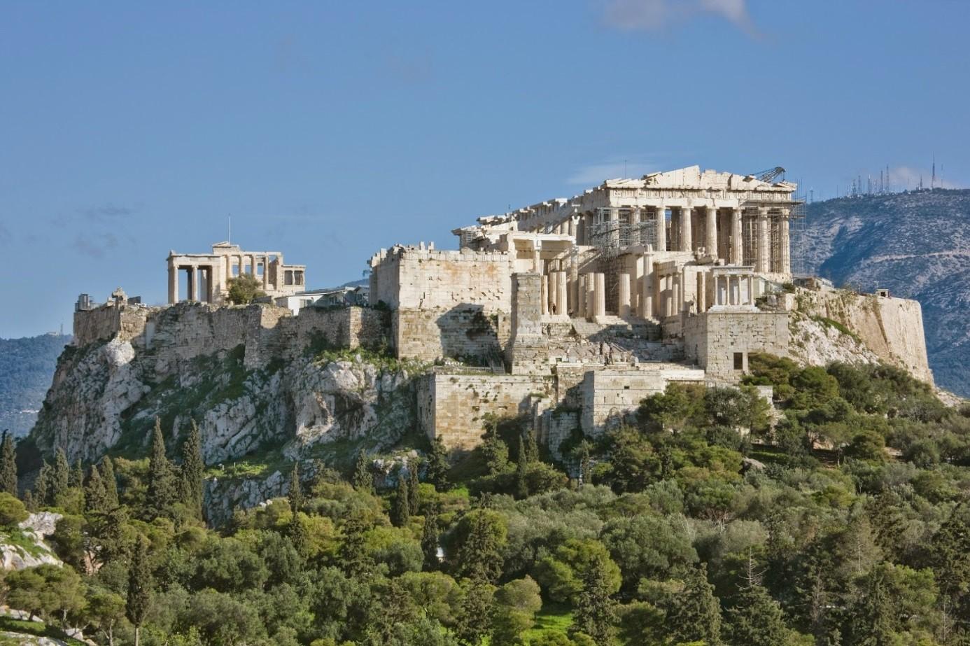 atina akropolis'i depreme dayanıklı çıktı