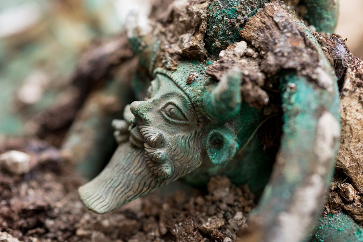 fransa'da olağanüstü prens mezarı bulundu
