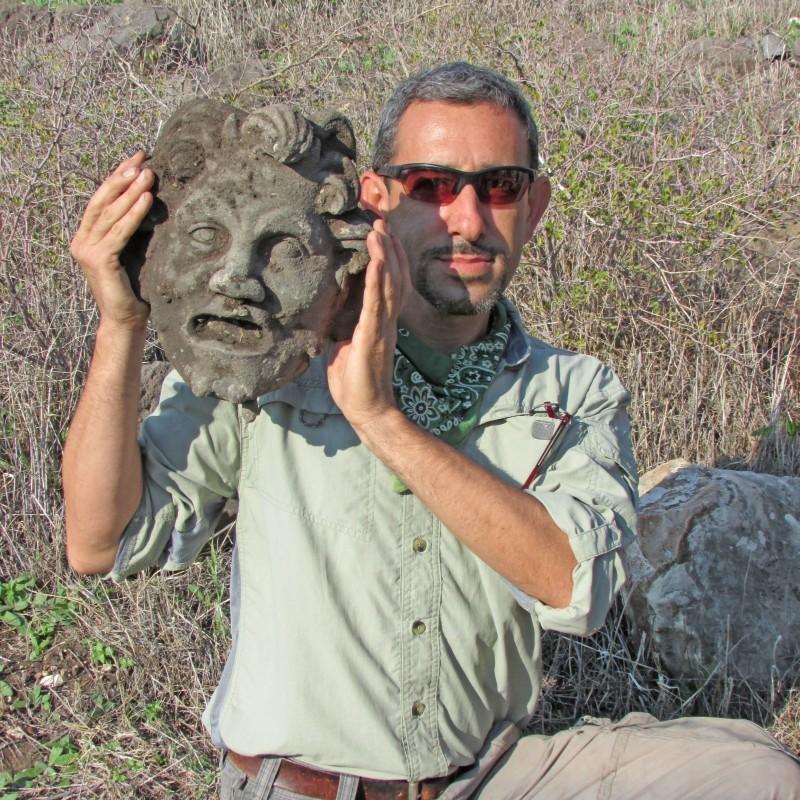 İsrail'de En Büyük Bronz Pan Maskesi