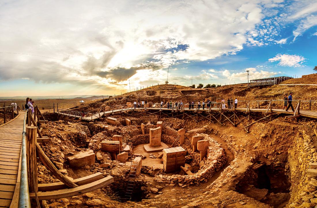 tarihi değiştiren kazılar 1'de göbeklitepe damgası