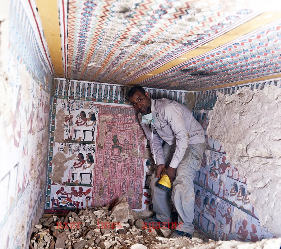 luksor'da yeni bir mezar bulundu