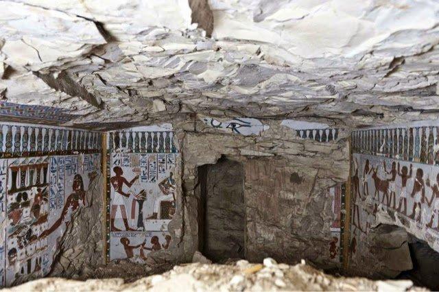 Amun Tapınağı'nın muhafızı Amenhotep'e ait antik mezar Luxor'un güneyinde bulundu