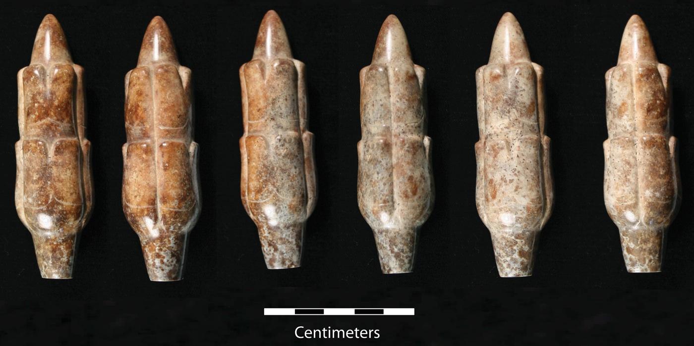 Meksika'da sert bir mineralden yapılmış mısır koçanı biçimli esrarengiz bir eser bulundu