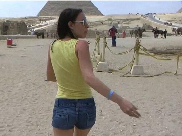 piramitlerde porno çekildi şüpheleri araştırılıyor