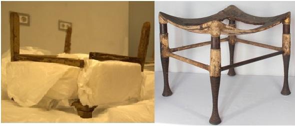 tutankamon kırık sandalye yalan haber