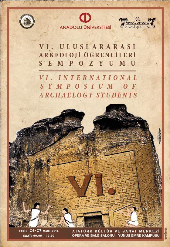 6. uluslararası arkeoloji öğrencileri sempozyumu yaklaşıyor