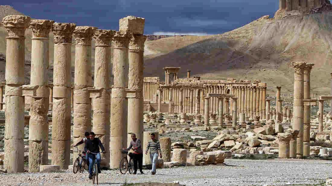 ğalmira'nın tarihi eserleri geri alındı