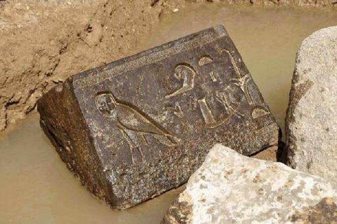 mısır'da antik şapel parçaları bulundu