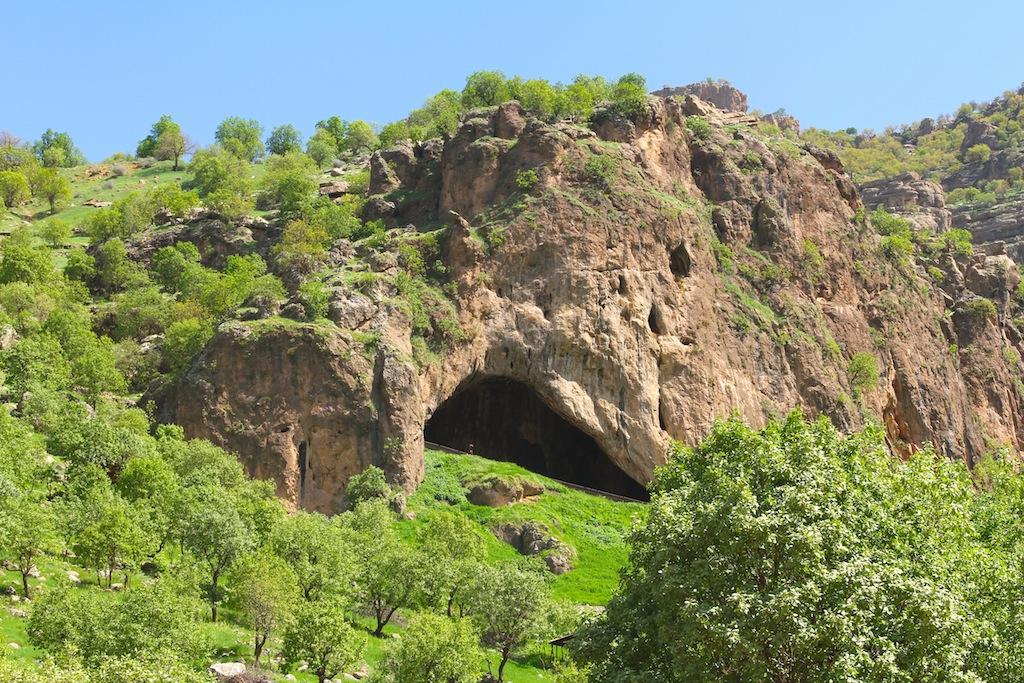 Shanidar'da yeni Neandertal kalıntıları bulundu.