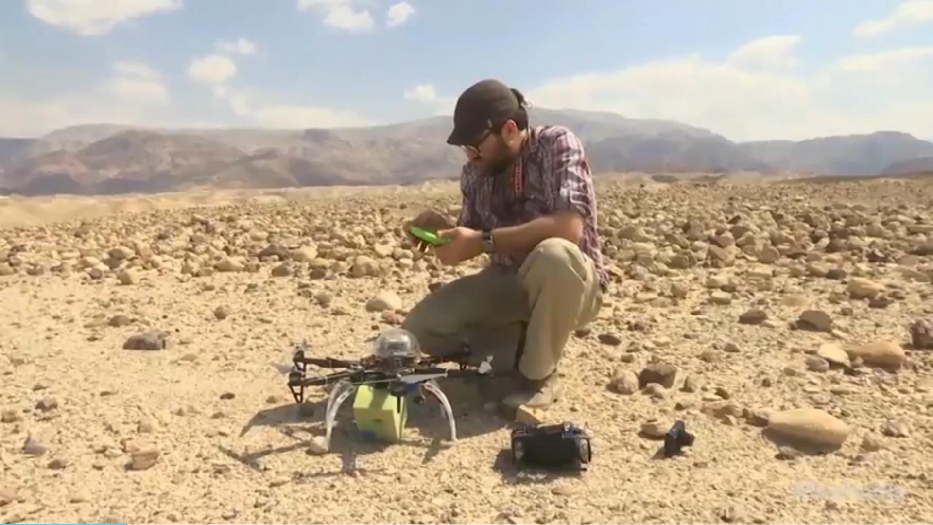 ürdün'de arkeolojik alan dronelarla korunuyor