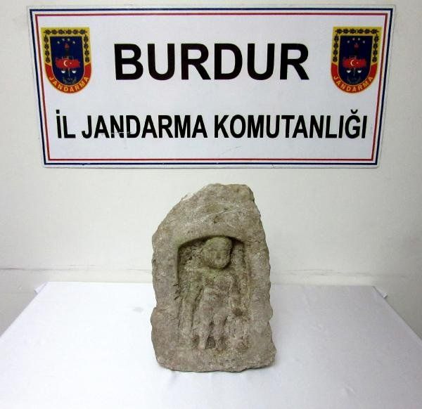 burdur'da herakles heykeli ele geçirildi