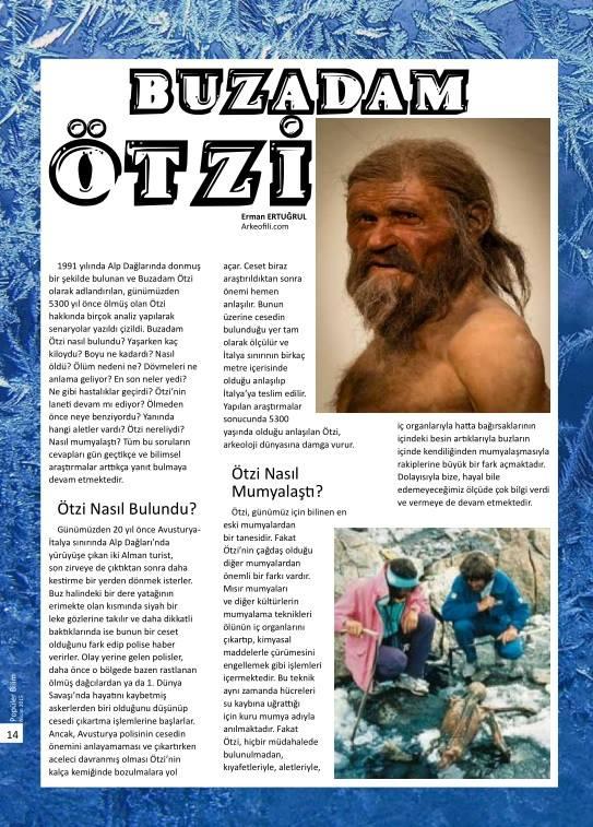popülerbilim dergisinde arkeofili