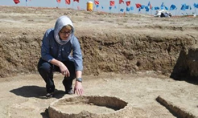 Tell Khaiber'de Babli dönemi katip okulu