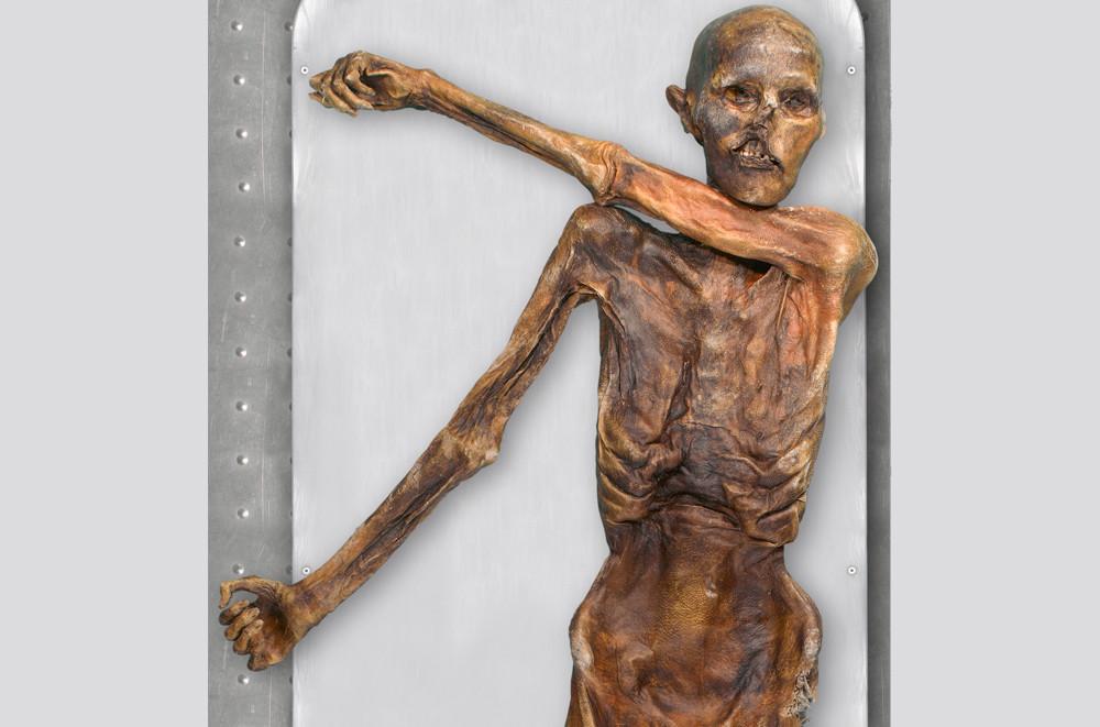 Ötzi vurulduktan hemen sonra ölmüş.