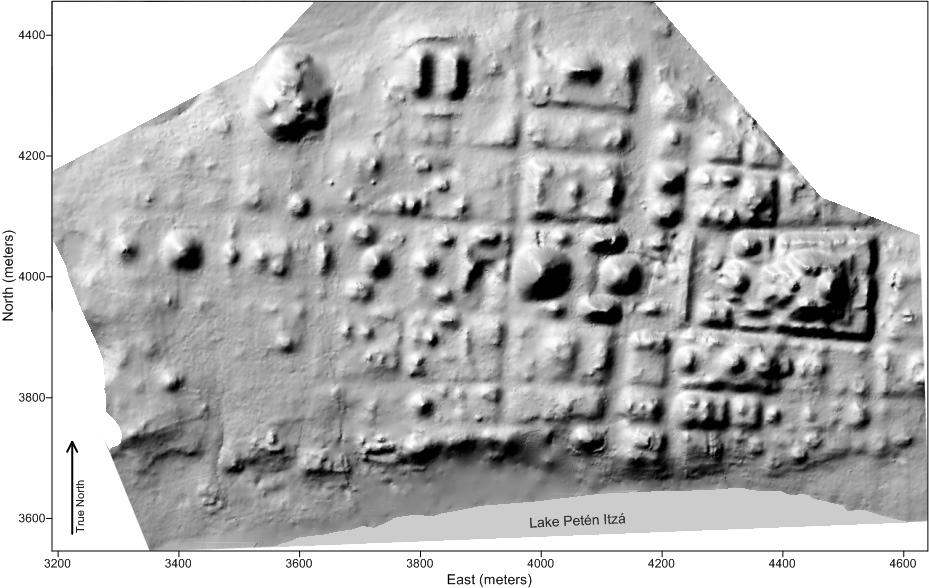 Antik Maya'da Izgara Şehir Planı