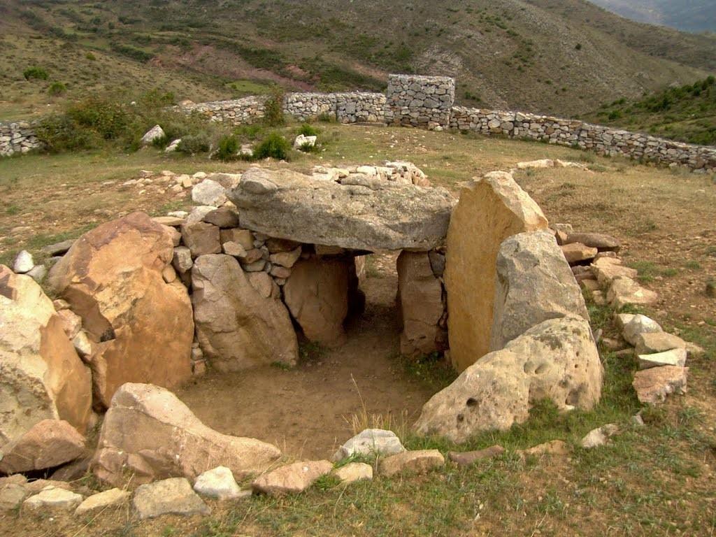 ispanya'da megalitik mezar