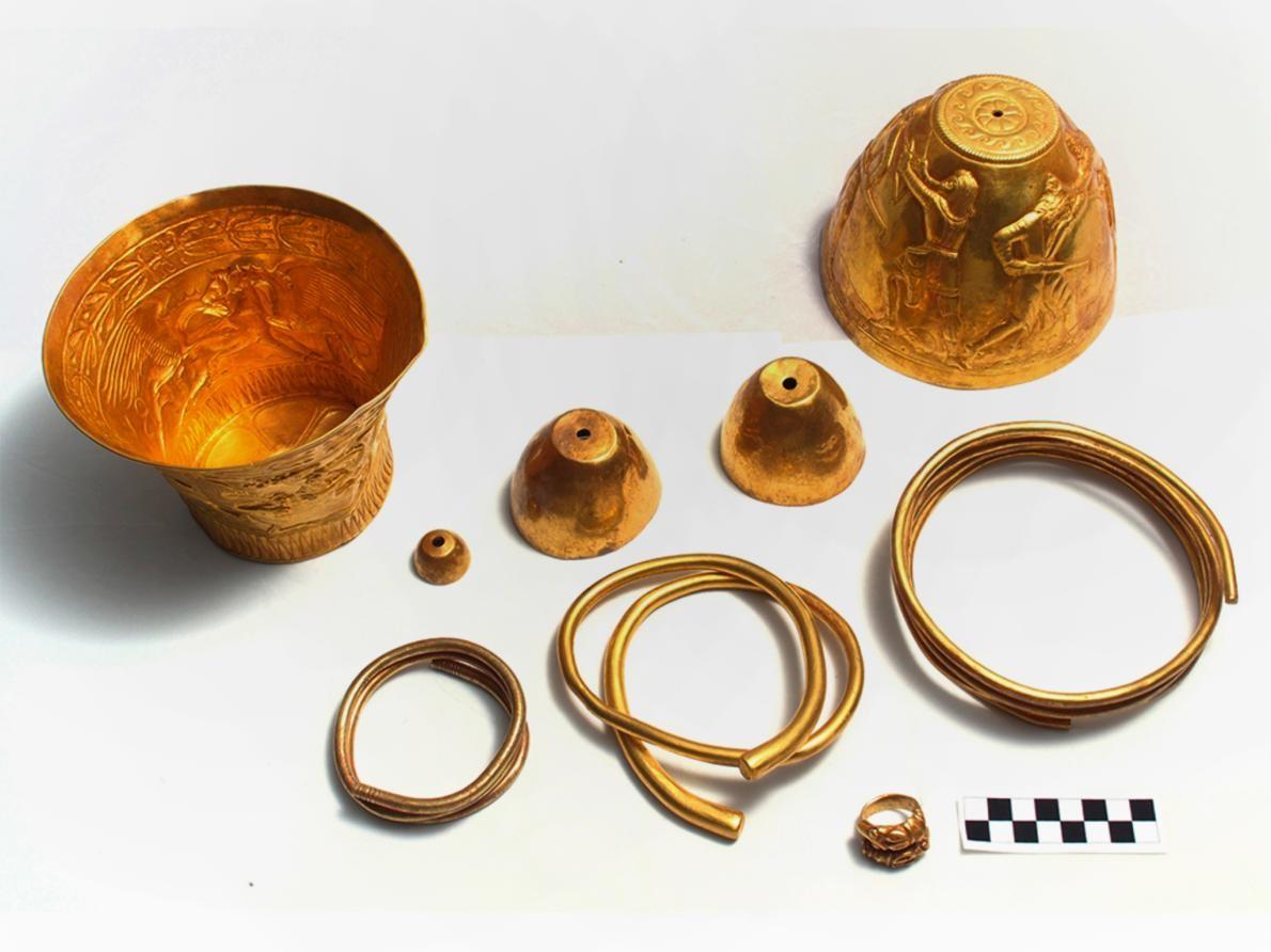 İskitlerin Altın Eşyaları Uyuşturucu Kullanımını Gösteriyor
