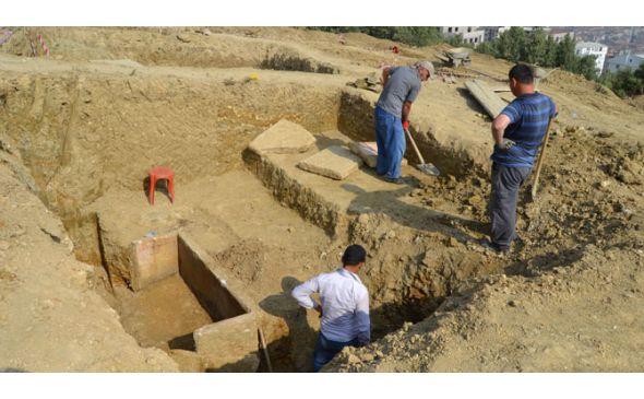 bursa'da bitinya dönemi lahdi bulundu