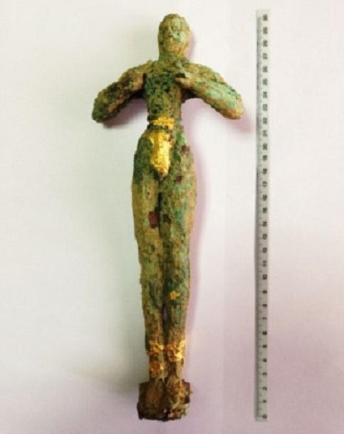 Yunanistan'da Minos Heykelini Satmaya Çalışanlar Yakalandı