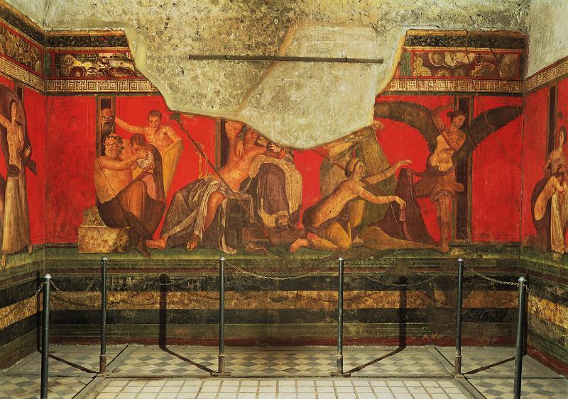 pompeii'de restorasyon ve konservasyon çalışmaları