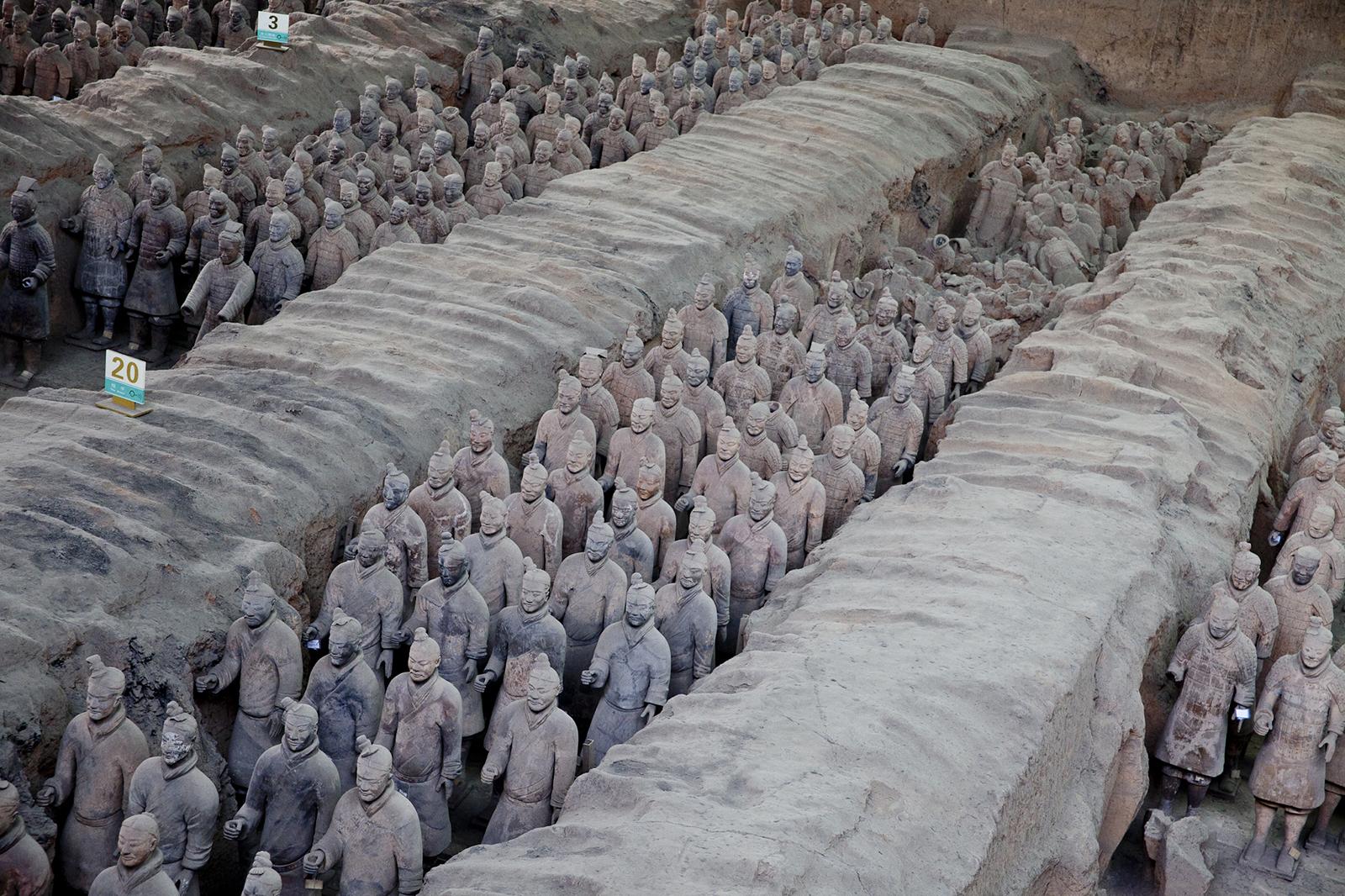 Çin'de Terakota Askerleri Kazısı Yeniden Başladı