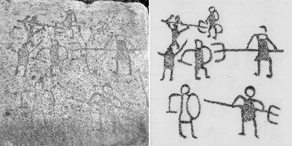 Afrodisyas Grafitileri Gladyatör Dövüşlerine Işık Tutuyor