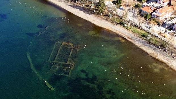 Aziz Neophytos Bazilikası, suyun kirliliği yüzünden araştırılamıyor.