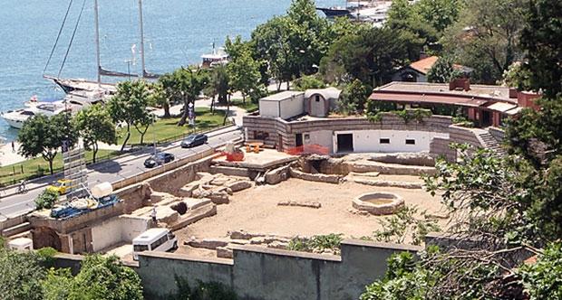 divan kuruçeşme tesislerinin restorasyon çalışmasında osmanlı hamamı bulundu