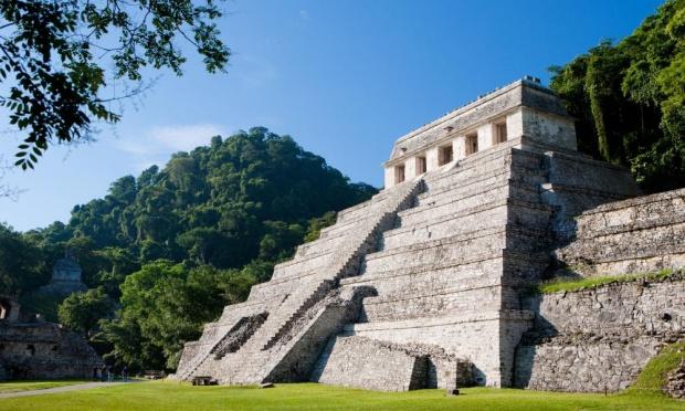 Meksika'da Kral Pakal'ın mezarı. Görsel: Alamy