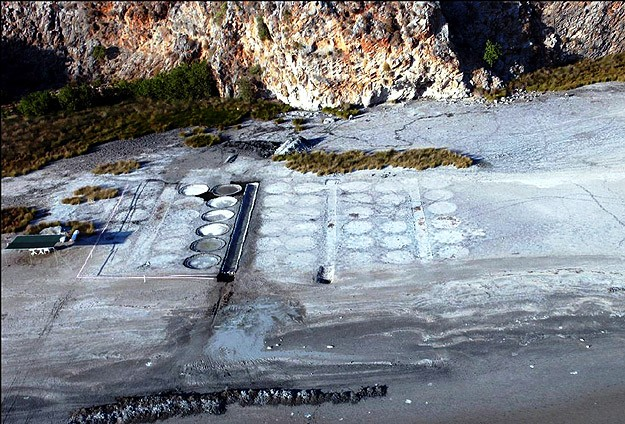 kaunos 2000 yıllık tuz üretimi