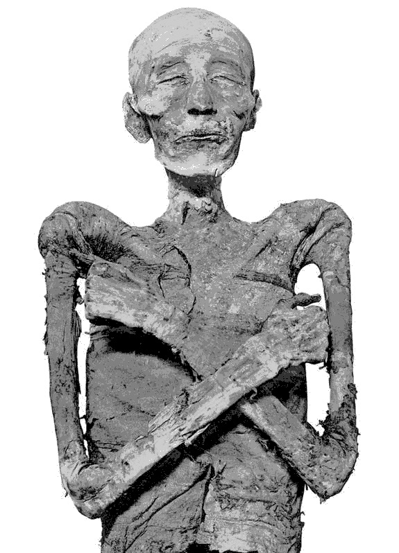 (Görsel: General Antiquites Egyptiennes du Musee du Caire: The Royal Mummies Le Caire, 1912)